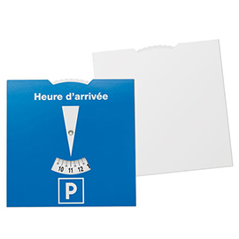 Carton-parking disc France