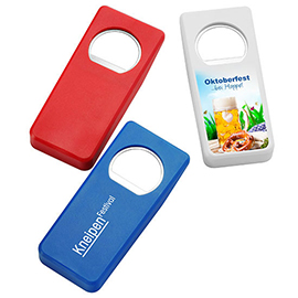 EXPRESS PRINT Bottle opener and seal